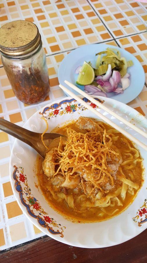 Estos son los mejores sitios de Chiang Mai para degustar el khao soi: una sabrosísima sopa de curry característica del norte de Tailandia.
