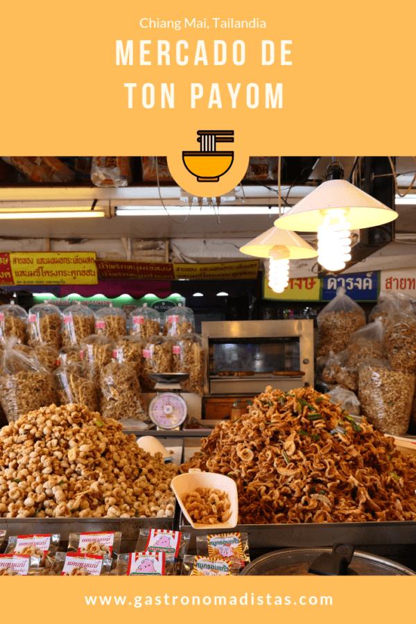 Ton Payom, un mercado pequeño de Chiang Mai en el que se elabora la mejor salchicha del mundo: la sai ua | Gastronomadistas
