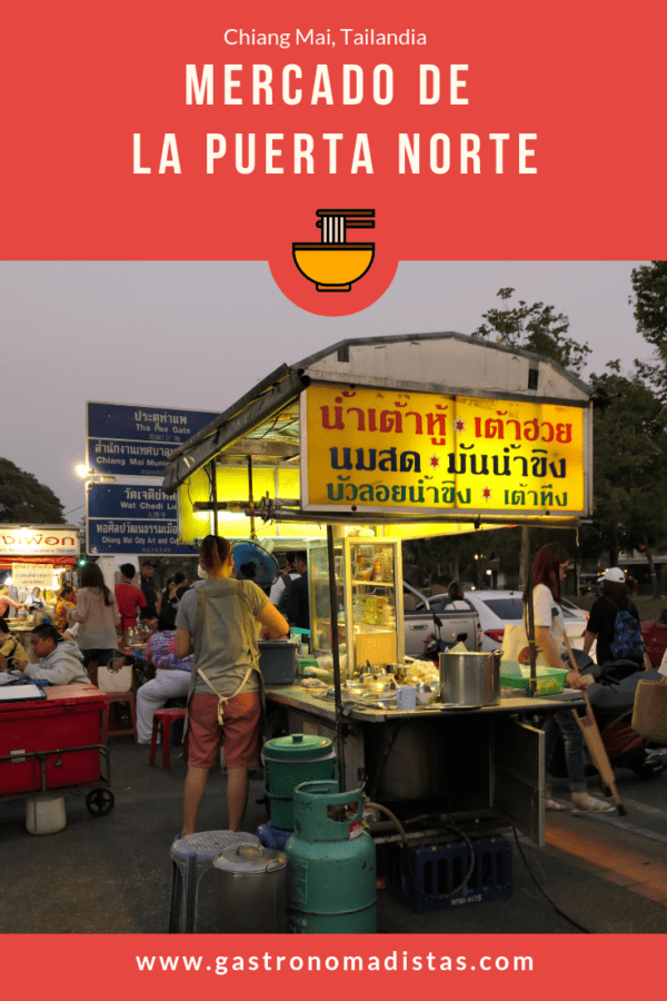 Mercado de la Puerta Norte de Chiang Mai | Gastronomadistas