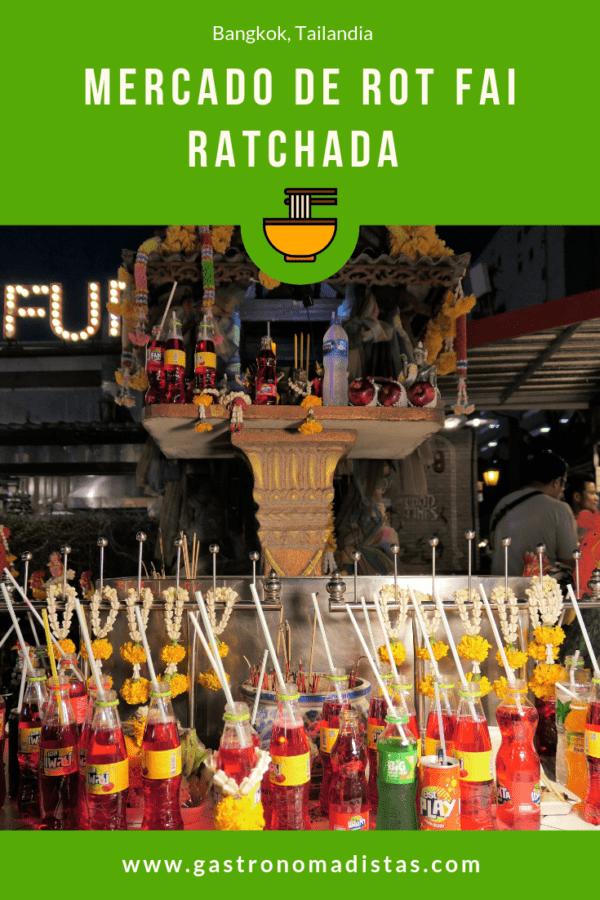 Mercado de Rot Fai Ratchada | Gastronomadistas
