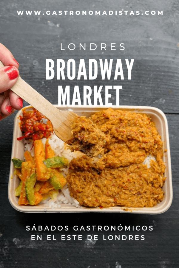 Broadway Market combina tradición y modernidad en un entorno relajado: es la alternativa perfecta a otros mercados más turísticos de Londres | Gastronomadistas