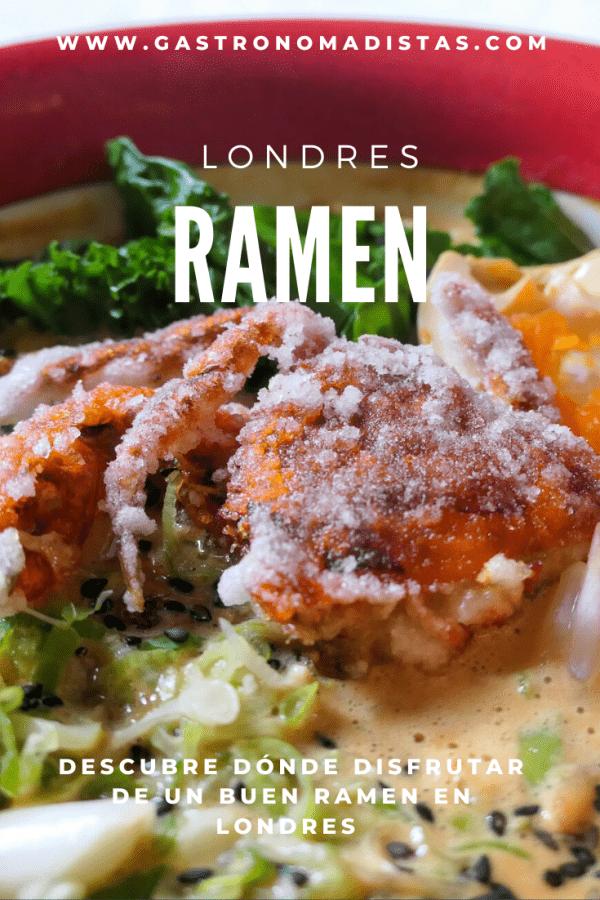 ¿Existe mejor forma de combatir el frío de Londres que con un buen bol de ramen? Descubre los mejores lugares de la capital británica para degustarlo | Gastronomadistas