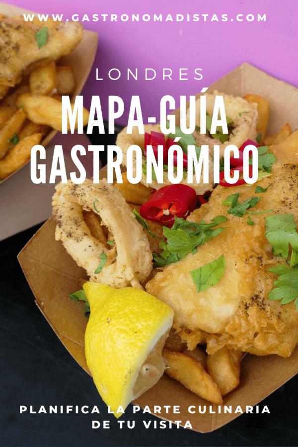 Comer en Londres: planifica la parte gastronómica de tu visita con nuestro mapa interactivo, una guía práctica y visual que te acompaña allá donde vayas | Gastronomadistas
